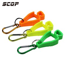 SCQP Metal Hook Safety Industrial Construction Worker Plastic Glove Interlocking Clips