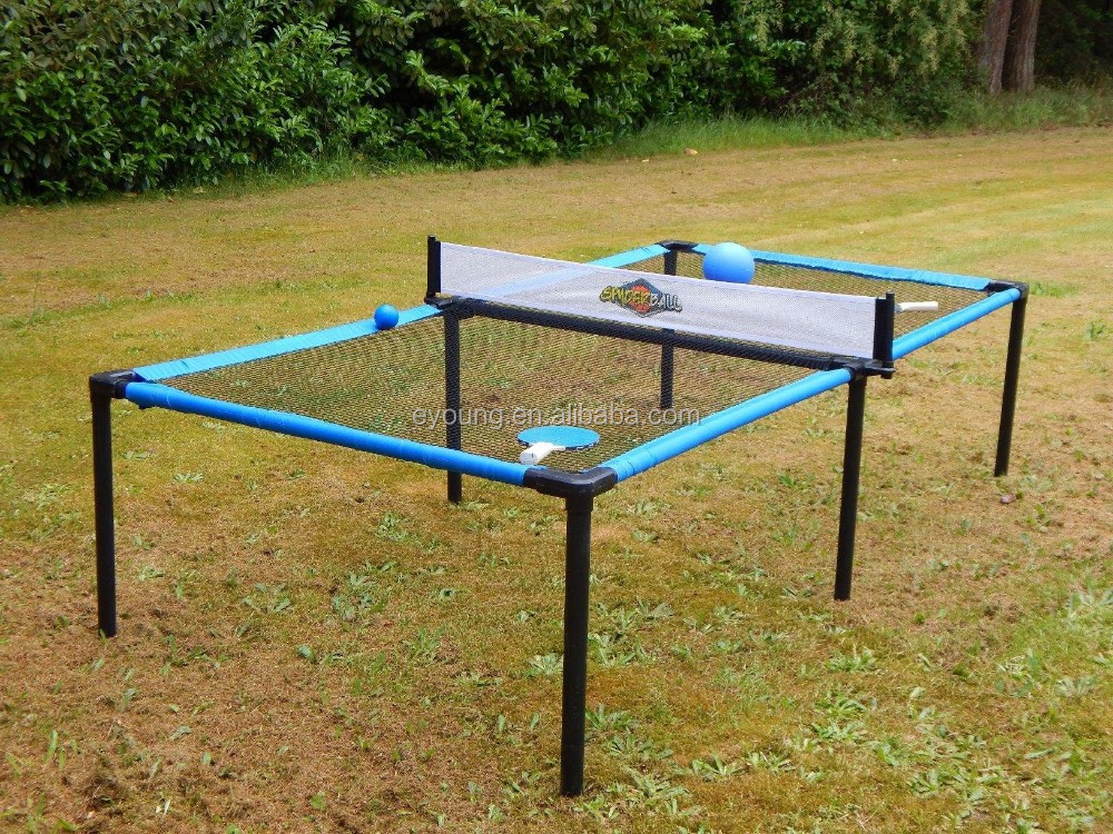 Outdoor & Indoor 8Ft Portable Folding Table Tennis Pong Game Table