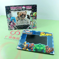 Guangzhou factory wholesale custom color printing hard cardboard photo frames