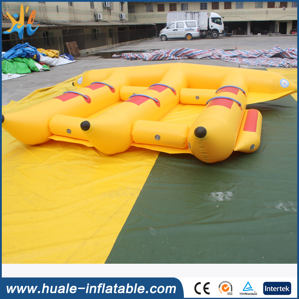 Inflatable Water Sports Equipment, Flying Fish Tube for Sale