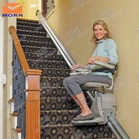 CE China inclined wheelchair stair chair lift for disabled