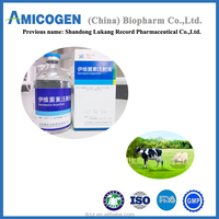 Veterinary medicine 1% Ivermectin Injection for camel cattle sheep with GMP
