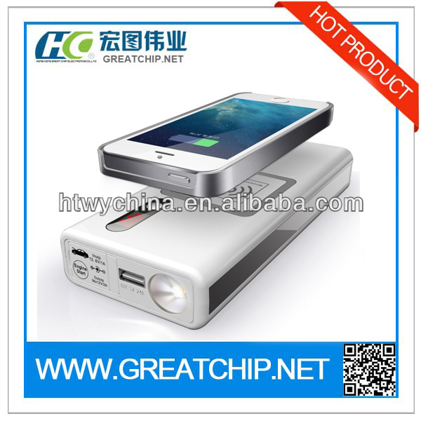 New Arrival Multifunction Power Bank Car Jump Start 12000mAh