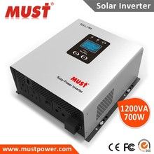 Solar inverter/charger 500w 700w 1000w Low Frequency Pure Sine Wave Solar Inverter with AVR function (PV 2000)