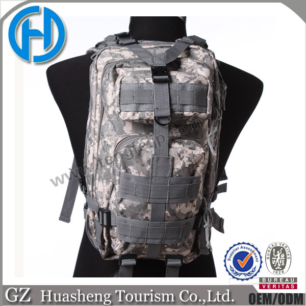 30-40L Capacity and External Frame Type Waterproof Hiking Camping Military Backpack