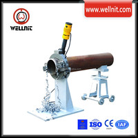 Split Frame Electric Pipe Cold Beveling Cutting Chamfering Machine