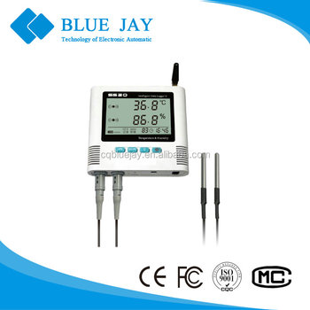 S 520-DT GPRS large LCD display 65000 record volume USB interface temperature and humidity data logger