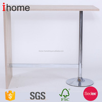 Selected material new arrival modern bar table design