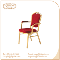 factory price restaurant banquet dining arm chair