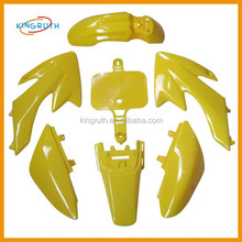 High quality crf50 plastic body for 50cc motorcycle abs fairing kit
