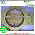 2014 hot sale wood watches with different colors painting popular and fashional BW20B