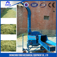 High efficient straw crusher/alfalfa hay cutter for farm with good working