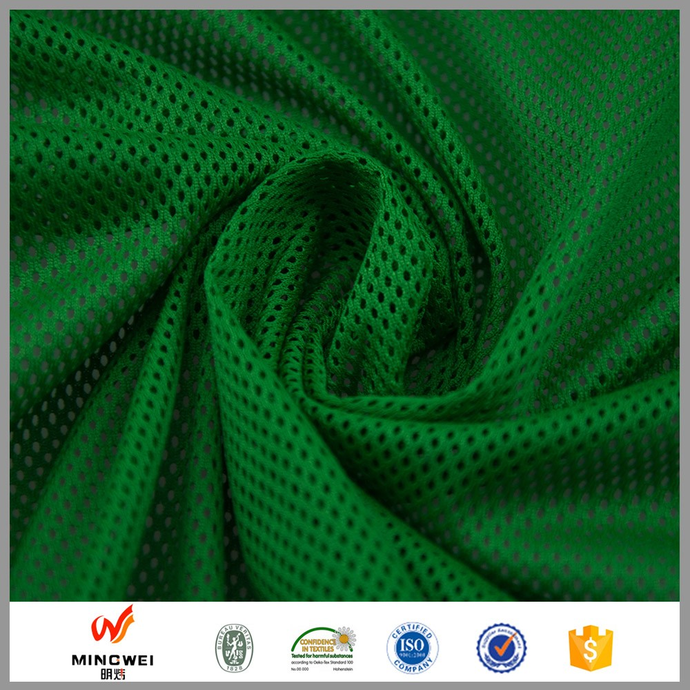 Java Print Fabric 100% Poly Mesh Fabric