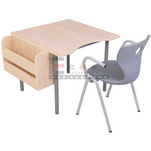 high quality school furniture single seater desk and chair