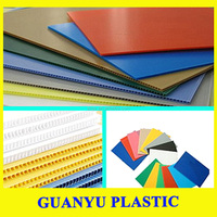 hot sale factory offered pp corfulte sheet for sign printing eco-friendly colourful pp corrugated boards/sheets