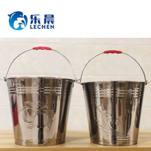 Bucket Stainless Steel 6L7L8L10L12L16L20L Water bucket Metal Bucket