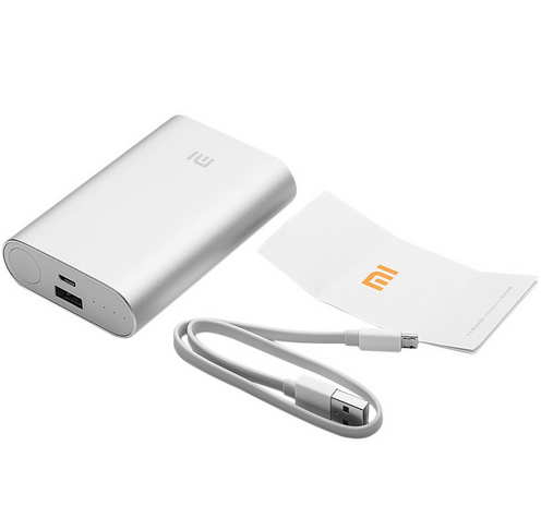 [HK Stock][Official International Version] xiaomi power bank 10000mah Input Current 2000mA(TYP) Output Current 2100mA(TYP)