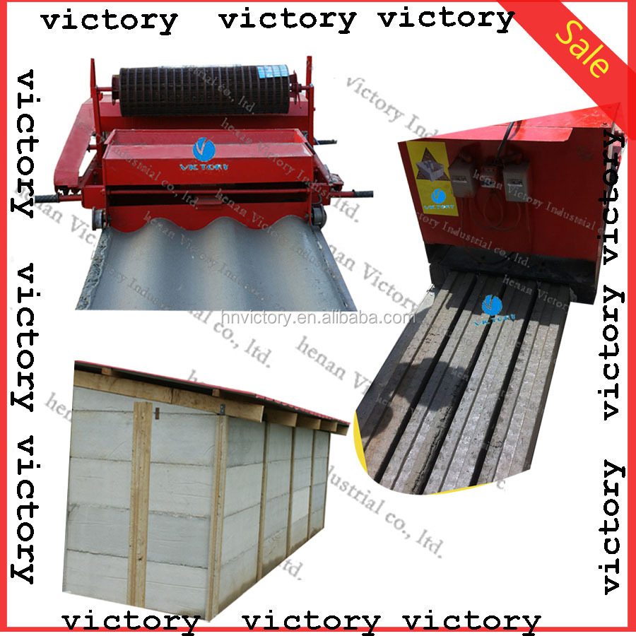 Fence mold concrete making machine for fence and house