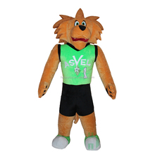 HI custom 3m inflatable costumes lyjenny funny inflatable fat sport lion suit mascot costume