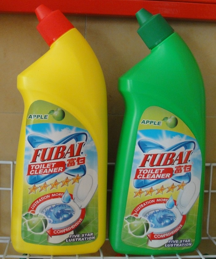 FUBAI 600ml Toilet bowl Cleaner