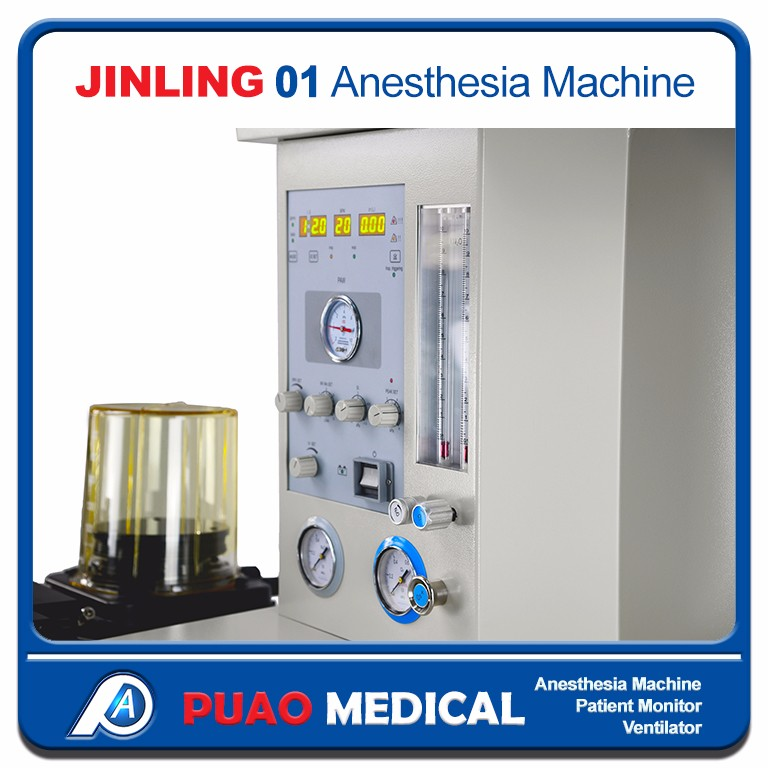 Multi-parameter Anesthesia Machine Jinling-01 with factory price