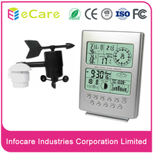 Wireless transmission digital weather station clock price