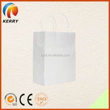 Hot Selling High Quality Creative Portable Shopping White Paper Bag
