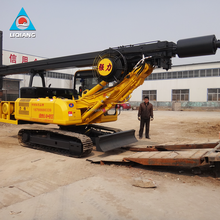 tracked hydraulic rotary auger drill machine