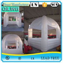2017 qiling Customized outdoor inflatable display/trade show booth
