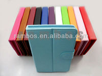 "Universal 7"" Tablet PC Leather Case Cover with Stand for 7 inch MID Tablet PC Ebook Reader"