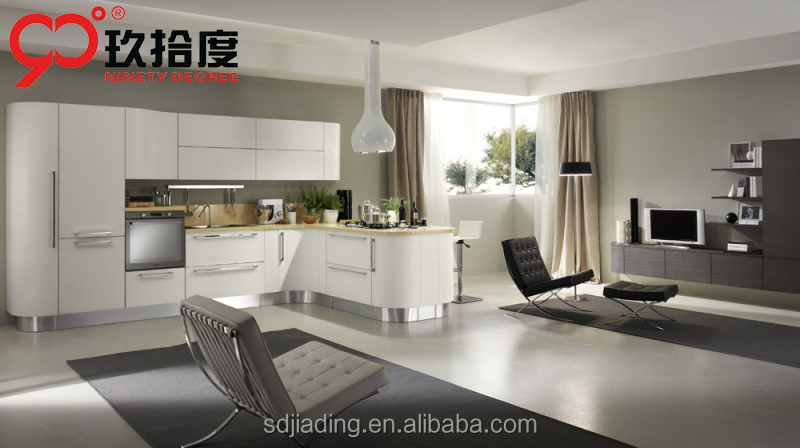 CSA ULC SAA approved modular lacquer kitchen cabinet kitchen furniture up to American standard