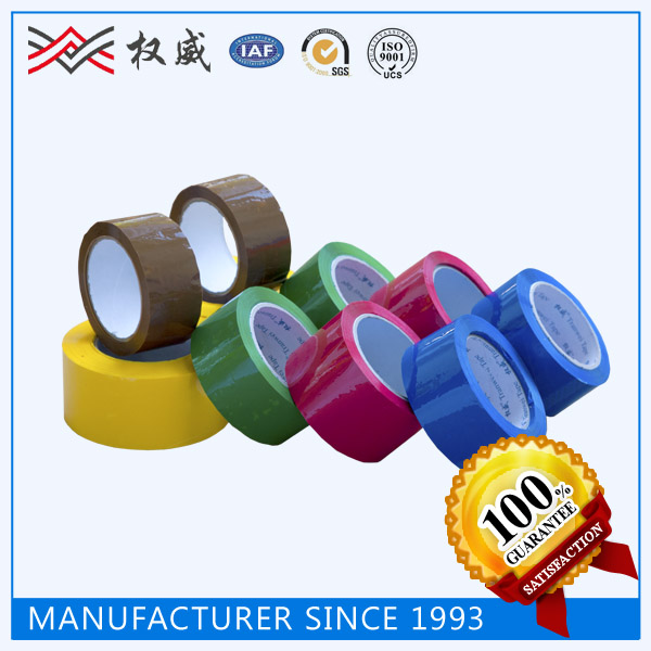 SGS and ISO9001 certificate custom bopp packing adhesive tape