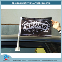 wholesale car flag campaign small hand flag display