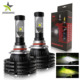 New Super Bright X4 H7 Automobiles Led Car Light,automatic 6500k 10000 Lumen Dual Color h11 H4 Auto Led Headlight h7