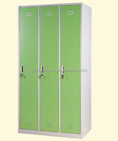 Multi-purpose Change room 3 door gym metal steel locker/kitchen stainless steel cabinet shelves