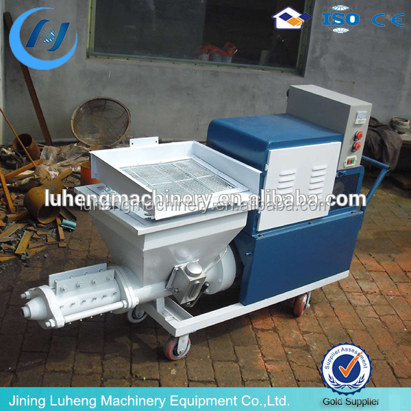 Famous Brand China Stucco Sprayer Price / Lime Cement Spraying Machine/whatspp:+8613678678206