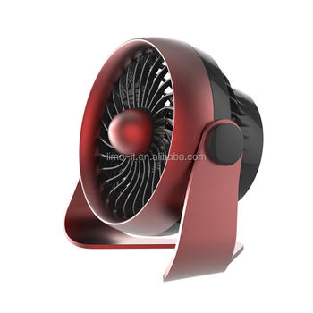 2017 Fashion Luxurious Strong Wind Air Cooling Fan, Rechargeable Portable USB Mini Desk Fan