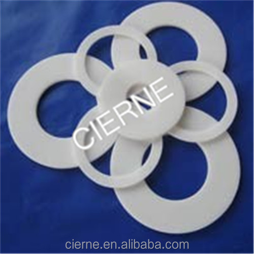 White Non Modified virgin Flat Pure Food Quality PTFE seal Gasket