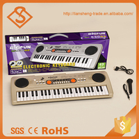 High grade plastic electronic piano kid toy musical instrument