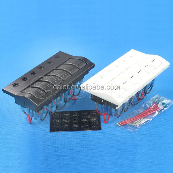 Daier marine 4wd rocker switch