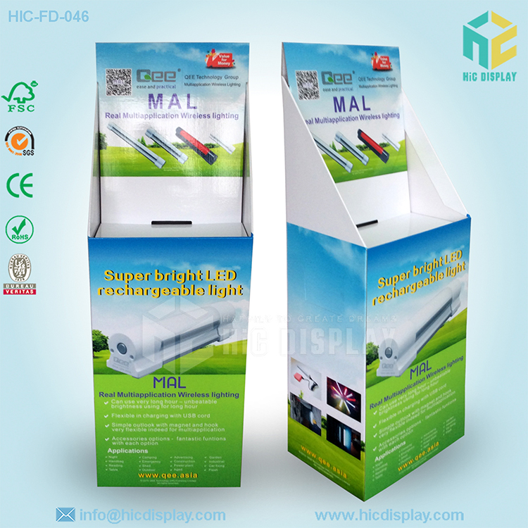 Paperboard outdoor full color led display, led display case lighting