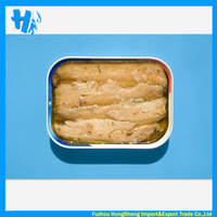 Canned fish sardine in oil