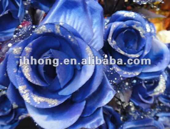Garden Rose Bouquet /Artificial flower/blue rose flower