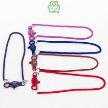 OEM design adjustable delicate casino nylon bungee cord with lobster claw