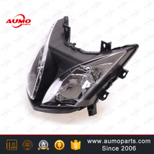 Popular parts Motorcycle 900cc black head lamp for ROMET OGAR 900