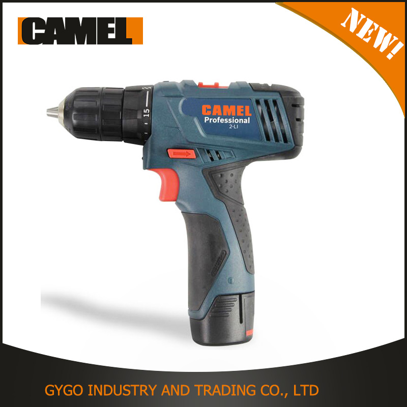 factory price li-ion Cordless high speed 10mm small electric drill screwdrivers