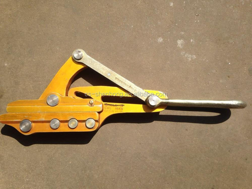 Cable Earth Wire Rope Grip Come Along Clamp