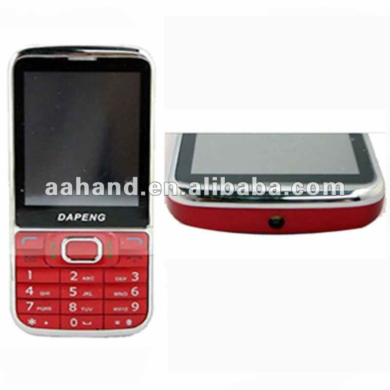 Cheap Cell Phone C8 with Quadband dual Sim Cards Torch