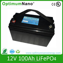 12V 100Ah UPS rechargeable lithium battery pack