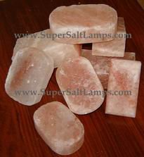 Himalayan Deodorant / Cleansing Crystal Salt Bars And Massage Stones-100% Natural!